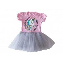 Детска рокля Еднорог 80-110