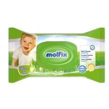 Molfix Влажни кърпи с лосион 60бр.