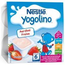 Nestle йогурт с Ягода 4 х 100гр.