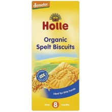 Holle Bio Бебешки бисквити от Спелта 150гр