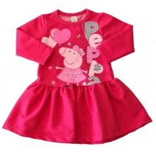 Детска рокля Пепа Пиг 86-128