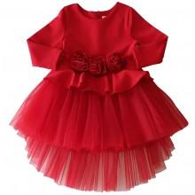 Контраст Официална рокля Рози  68-122