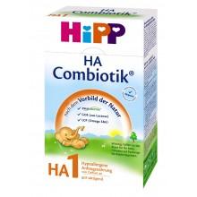 Хип ХА 1 - HIPP H.A.1 Combiotic Био Хипоалергенно мляко 0-6м. 350гр.