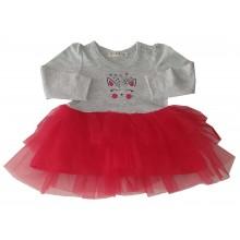 Детска рокля Коте 68-92