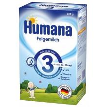 Хумана 3 - Humana 3 Преходно мляко 10м+ 600гр.