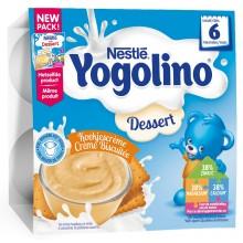 Нестле Десерт за малки деца с Бисквити 4 х 100гр.