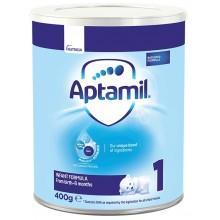 Аптамил 1 - APTAMIL 1 Бебешко мляко за кърмачета 0-6м. 400гр.