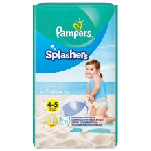 Pampers Splashers Плувни гащи 4 9-15кг 11бр