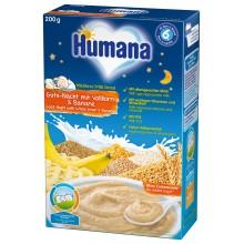 """Хумана Каша """"Лека нощ"""" - Humana Инстантна пълнозърнеста каша с банан 200гр"""