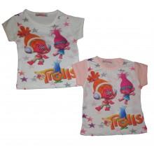 Блуза с къс ръкав Тролчета 74-92