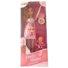 Кукла  майка с бебе