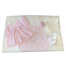 Комплект за изписване с рокля и порт бебе