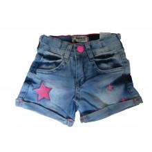 Къси дънкови панталони за момиче 86-110 см