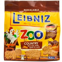 Leibniz Zoo Детски бисквити Зоо със спелта и овес 100гр